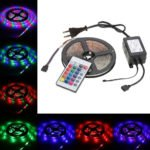LED-Stripes: 5M mit 270 LEDs (2835 SMD) inkl. Fernbedienung für 6,51€ inkl. Versand