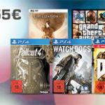 Saturn Aktion: 3 Games für 55€ (Xbox One, PS4 und PC)
