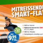 100 Minuten + 1000MB Internet im Telekom-Netz für nur 9,85€ monatlich
