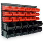 Wandregal mit Stapelboxen 32-tlg. für nur 17,95€ inkl. Versand