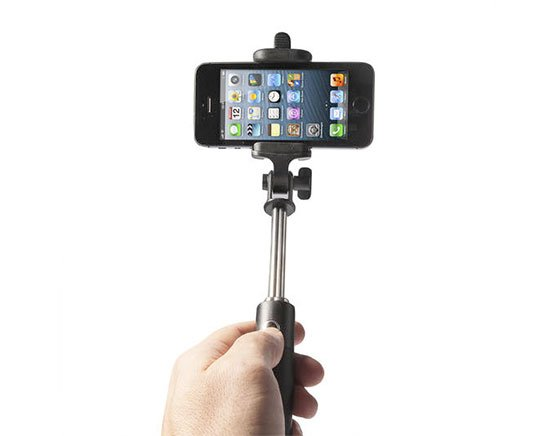 poppstar selfie stick selfiestange bluetooth ios android
