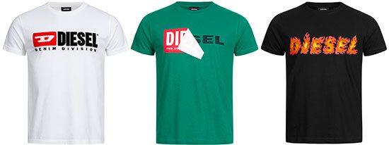 T-Shirts Deal Diesel Angebot Sparen Rabatt