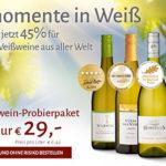Weißwein-Probierpaket: 6 Flaschen Weißwein für 29,00€ inkl. Versand