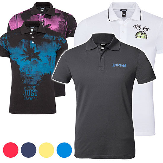 Poloshirts Just Cavali Günstig angebot deal