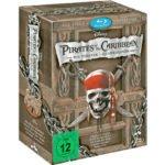 Fluch der Karibik: Die Piraten-Quadrologie (Blu-Ray) für 17,99€ inkl. Versand