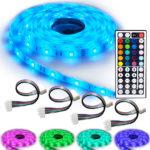 NINETEC – Wasserfeste LED Stripes 5m Profi-Set – Komplettset mit 150 LEDs für 24,99€ inkl. Versand