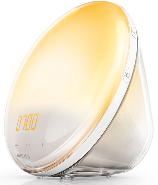philips wake up wecker sonnenlich lichtwecker