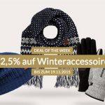 engelhorn: 12,5% Rabatt auf Winter-Accessoires + 5€ Gutschein
