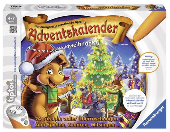 Ravensburger Adventskalender Kinder Angebot Deal