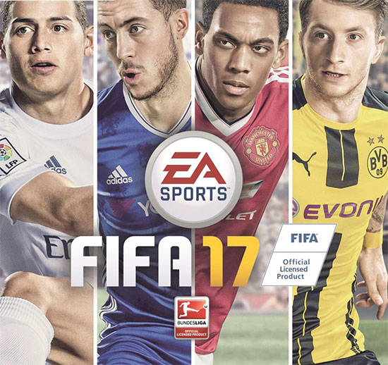 fifa 17 ps3 ps4 xbox 360 xbox one pc ab 36 99 inkl. Black Bedroom Furniture Sets. Home Design Ideas