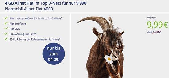 Angebot Deal Schnäppchen Handyvertrag