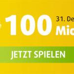 1 x Mega 2016 + 5 Rubbellose für nur 1€ (100 Mio. € Jackpot bei Mega 2016 | bis zu 2.500€ pro Rubbellos)