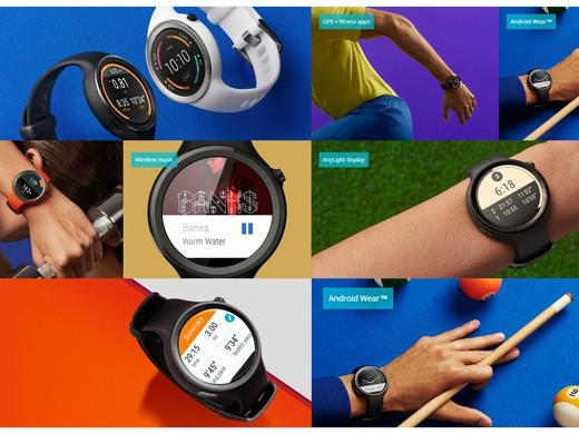 Android Smartwatch Moto 360 Sport