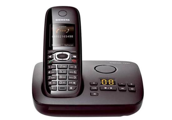 siemens gigaset c595 schnurlustelefon festnetztelefon anrufbeantworter