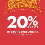 Disney Store: 20% Rabatt
