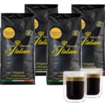 4kg Grand Maestro Italiano Edizione Limitata Kaffeebohnen + 2 doppelwandige Gläser für 49,99€ inkl. Versand