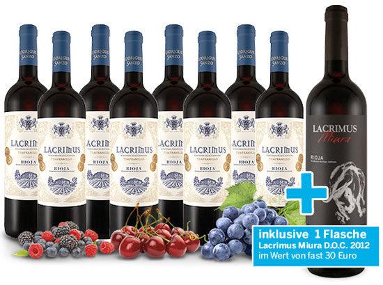 Wein angebot günstig deal rotwein rioja
