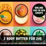 The Body Shop 2 x Body Butter für 26,95€ inkl. Versand statt 36,95€