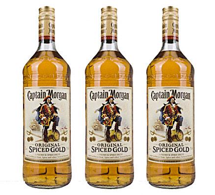 Rum Captain Morgan Angebot günstig kaufen
