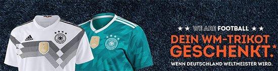 DFB WM Russland 2018 Trikot geschenkt deutschland