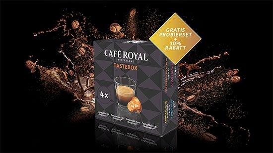 kostenloses caf royal probierset f r nespresso maschinen sparen im oktober 2018. Black Bedroom Furniture Sets. Home Design Ideas