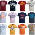 Superdry: 39 verschiedene T-Shirts für 14,95€ inkl. Versand