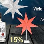Galeria Kaufhof: 20% Rabatt auf Gin und Wodka + noch mehr Rabattaktionen