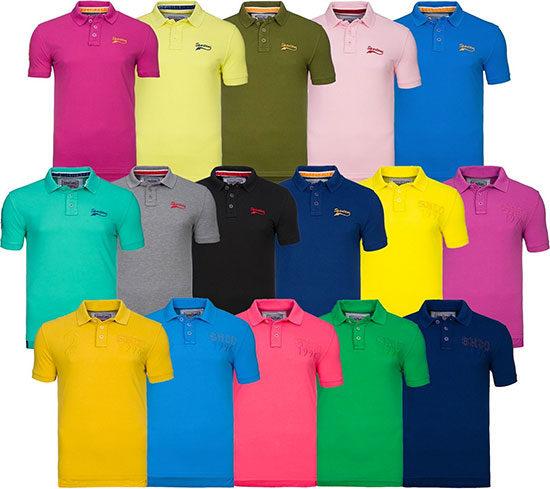 Kleidung Polohemd Herren Mann günstig online kaufen