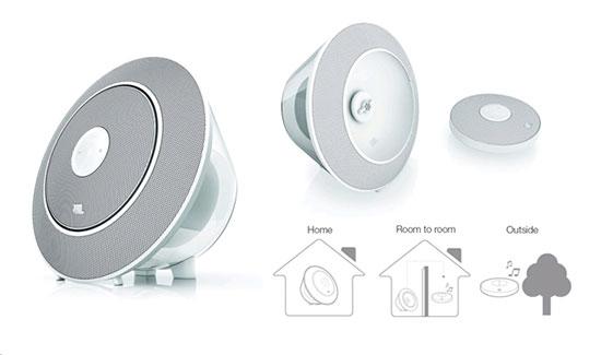 Dock Bluetooth Lautsprecher JBL Voyager