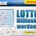 LOTTOBAY: 5 Felder Lotto 6aus49 für 0,60€ anstatt 5,35€ (29.000.000€ im Jackpot) *Zwangsausschüttung*