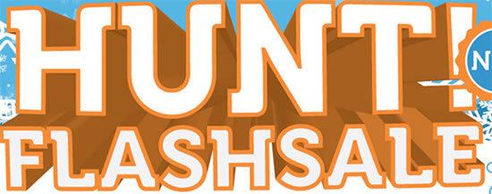 Hunt Sale Flash Angebot Deals