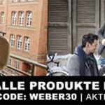 XXXL-Shop: 30% Rabatt auf alles von Weber (günstig Grills, Grillzubehör und mehr)