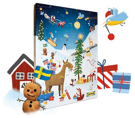 Ikea Adventskalender angebot deal günstig
