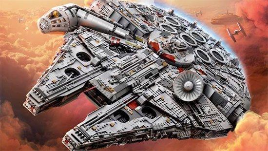 Lego Star Wars Millennium Falcon Angebot günstig kaufen Spielzeug