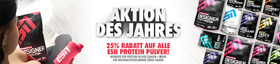 whey Protein esn rabatt suppplement