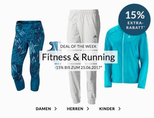 Engelhorn Rabatt Fitness Running Sport angebot deal