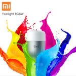 Xiaomi Yeelight RGBW LED-Lampe E27 mit App-Steuerung für 14,09€ inkl. Versand