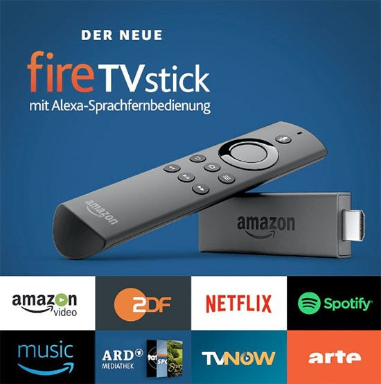 Amazon Fire TV Stick Streaming Neflix angebot