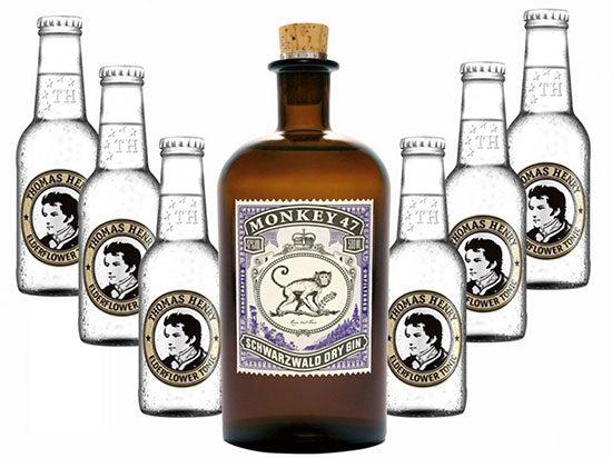 Thomas Henry Gin Monkey 47 Deal Angebot Sparen