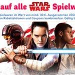 20% auf Star Wars-Artikel bei Toys'R'Us