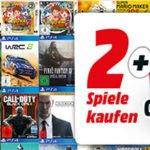 Media Markt: 4 Games zum Preis von 2