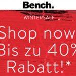 Bench: Winter Sale mit bis zu 40% Rabatt