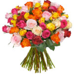 38 bunte Rosen für 23,94€ inkl. Versand