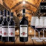 6 Flaschen Vallaresso – Chianti Riserva DOCG + 1 Magnumflasche Vallaresso & 4 Rotwein-Gläser für 59,90€ inkl. Versand