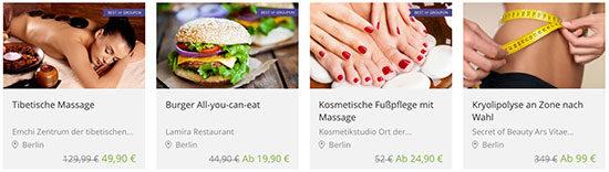 Gutschein Groupon Deals Angebot Schnäppchen