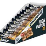 25 Isostar High Protein Riegel für 9,99€ inkl. Versand