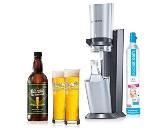 vorteilspack angebot günstig sodastream wassersprudler Bier Blondie Set Angebot