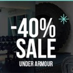 my-sportswear: 40% Rabatt auf das komplette Under Armour Sortiment
