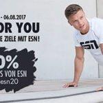 Fitmart: 20% Rabatt auf alle ESN-Produkte (z.B. 1kg ESN Designer Whey-Protein ab 14,32€)