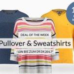 engelhorn: 10% Rabatt auf Pullover & Sweatshirts